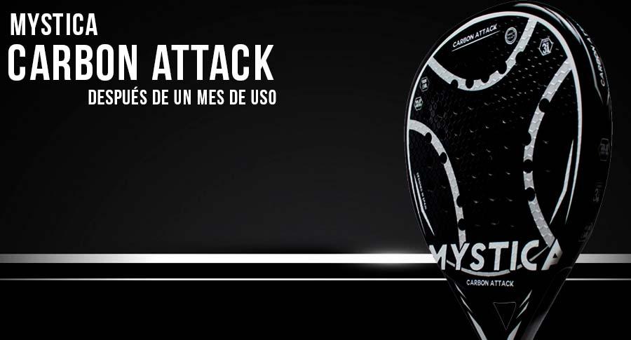 Mystica Carbon Attack LTD analizzata da Time2Padel.