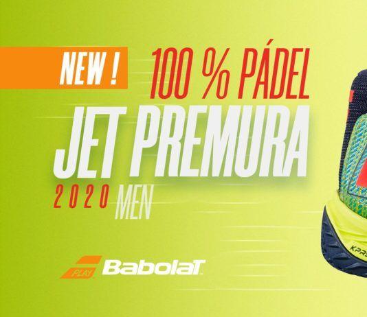 Las nuevas Babolat Jet Premura 2020.