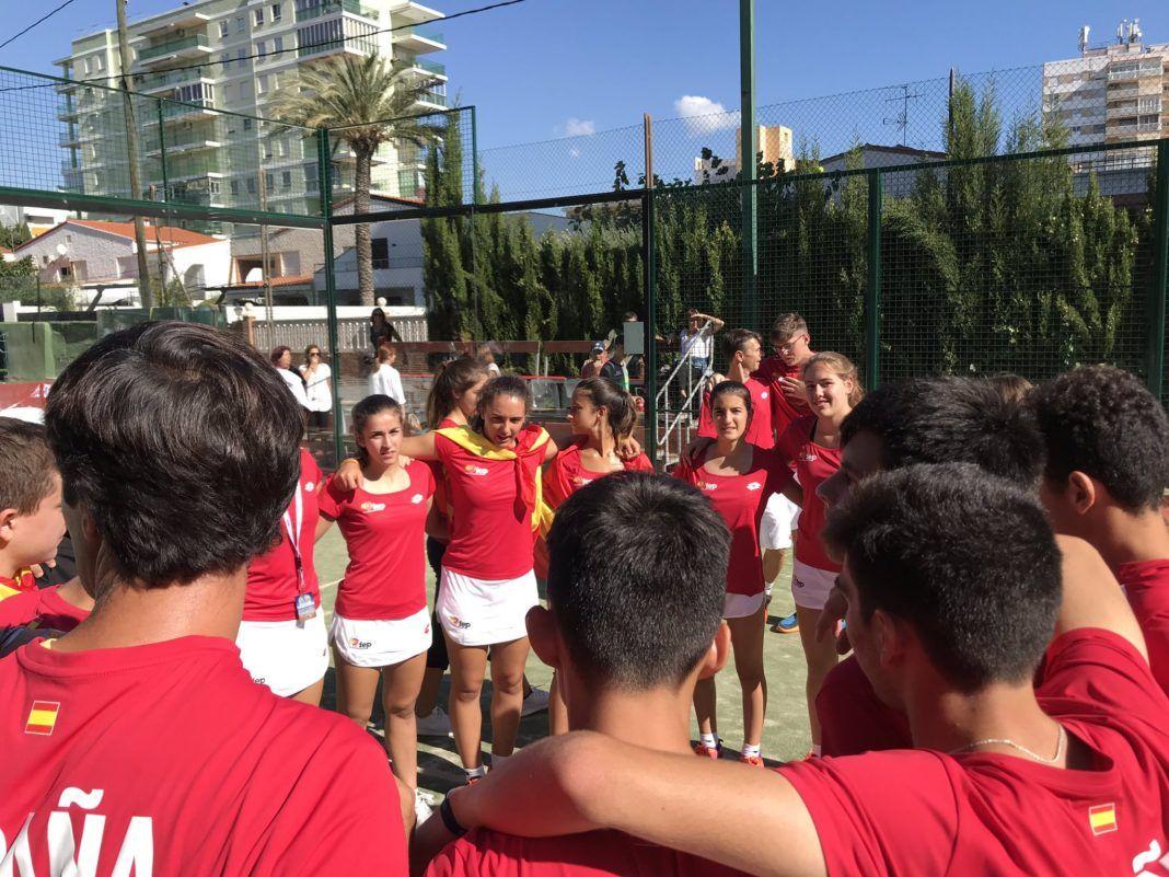 La squadra spagnola della FEP in Coppa del Mondo.