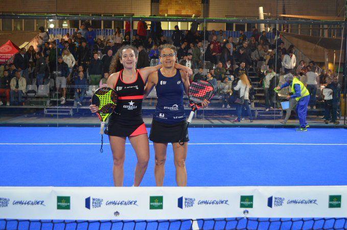 Cate Tenorio y Araceli Martínez en el San Javier Challenger.