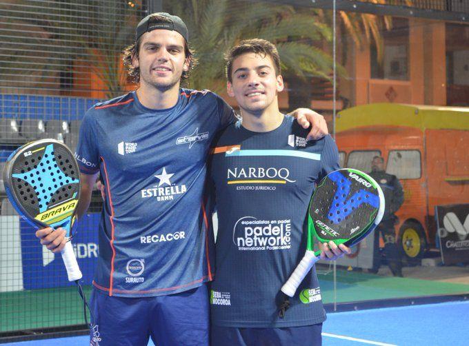 Garrido y Di Nenno en el San Javier Challenger.