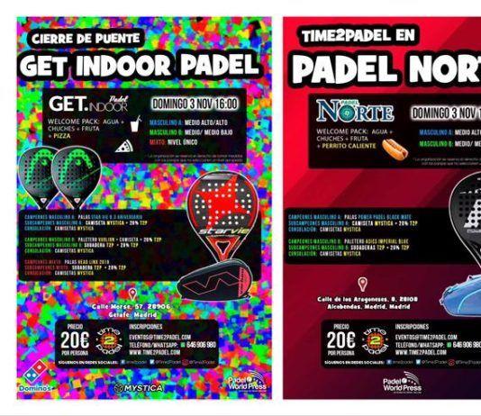 L'offerta dei tornei Time2Padel. L'offerta dei tornei Time2Padel.