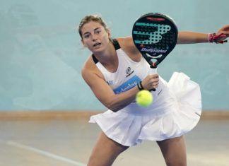 Alejandra Salazar en el Menorca Open. | Foto: World Padel Tour