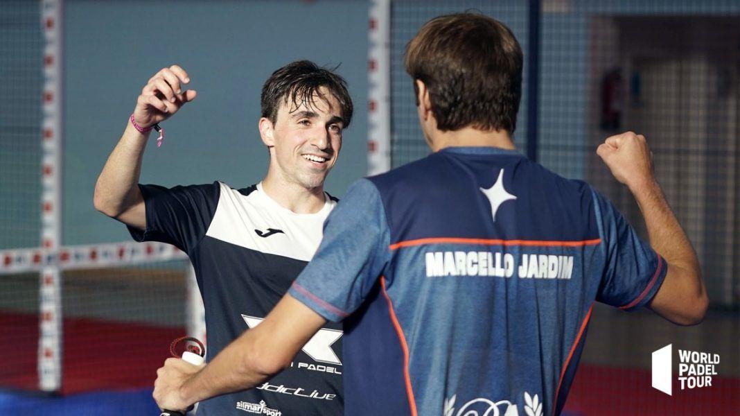 Perino y Jardim en el Menorca Open. | Foto: World Padel Tour