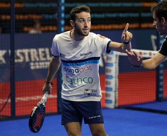 Diestro e Ruiz all'Open di Minorca. | Foto: World Padel Tour