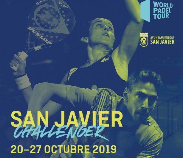 El cartel del San Javier Challenger. | Foto: World Padel Tour