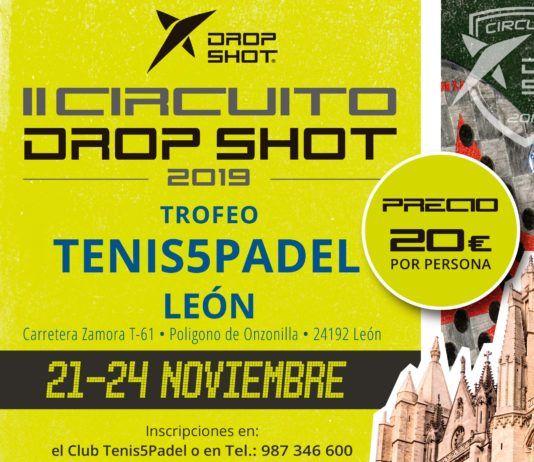 L'affiche du II Circuit Shot Shot lors de son test à León.