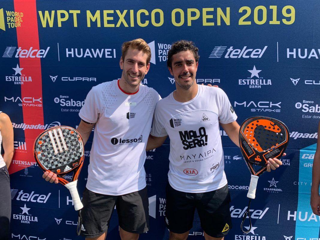 Cuartos del México Open.   Photo: Tour du monde Padel