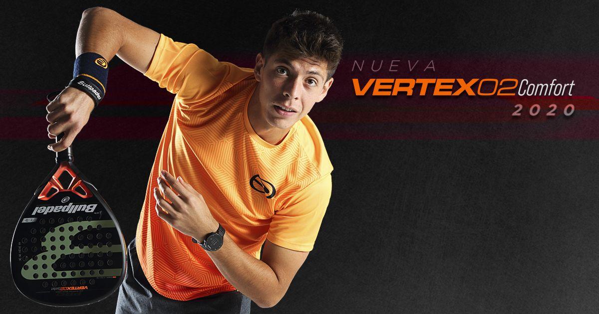 La nueva Bullpadel Vertex Comfort de Juan Tello.
