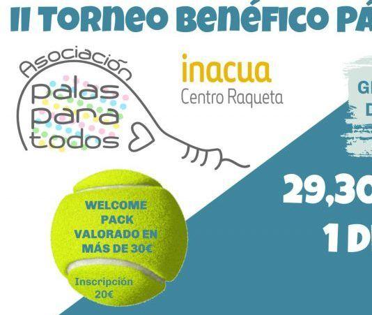 L'affiche du tournoi II Palas para Todos.