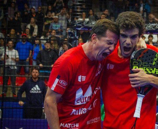 Paquito Navarro y Juan Lebrón en el Sao Paulo Open. | Foto: World Padel Tour