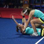 Carolina Navarro y Ceci Reiter en el Master Final. | Foto: World Padel Tour