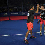 Galán y Lima en el Master Final.   Foto: World Padel Tour