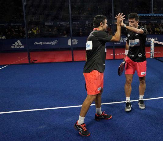 Galán y Lima en el Master Final. | Foto: World Padel Tour
