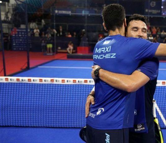 Sanyo Gutiérrez y Maxi Sánchez.   Foto: World Padel Tour