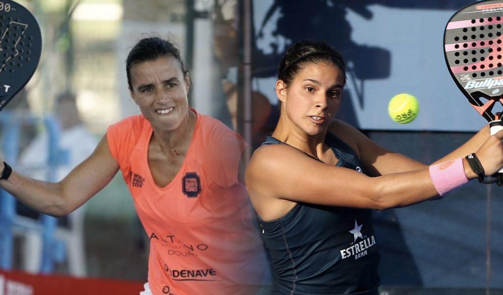 Ana Catarina Nogueira y Delfi Brea. | Foto: World Padel Tour