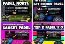 La propuesta de Torneos T2P. | Foto: Torneos Time2Padel
