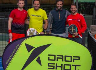 Algunos de los jugadores del III Circuito Drop Shot.