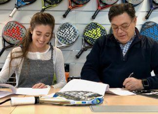 Martita Ortega renueva con Adidas Padel.