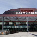 El Malmö Arena, sede del Swedish Padel Open.