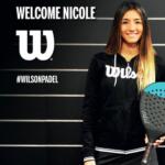 Nicole Traviesa, nuova firma di Wilson Padel.