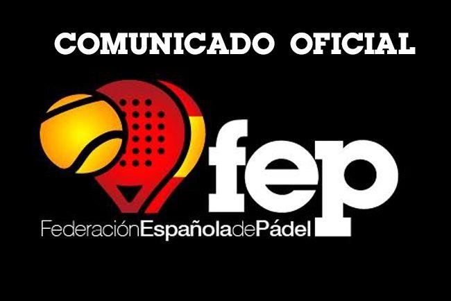 Fédération espagnole de paddle (FEP).