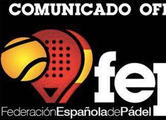 La Federazione spagnola di paddle (FEP).