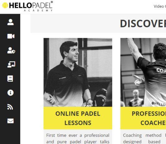 Head Padel, patrocinador de la Hello Padel Academy.