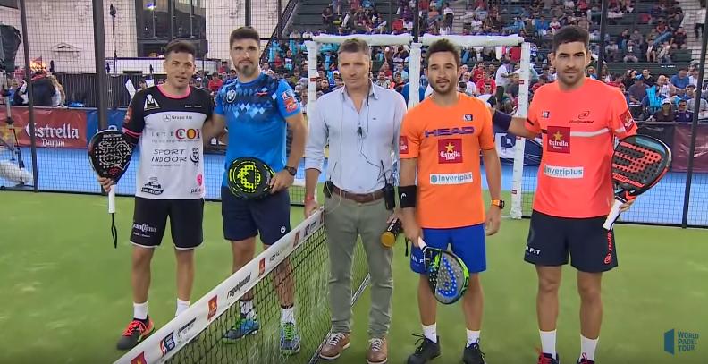 Los cuatro protagonistas de la final del Buenos Aires Master 2018. | Foto: WPT
