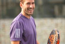 Álex Ruiz, joueur d'Adidas Padel.