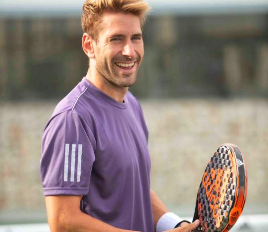 Álex Ruiz, giocatore di Adidas Padel.
