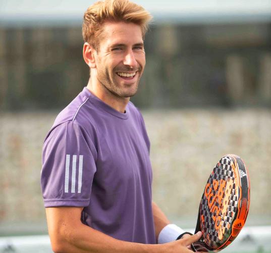 Álex Ruiz, jugador Adidas Padel.