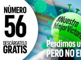 A nova revista Top Padel 360 sobre tênis de raquete e coronavírus.