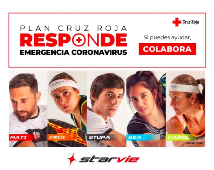 Starvie e la Croce Rossa contro il coronavirus