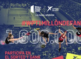 Nuevo sorteo de Drop Shot y World Padel Tour