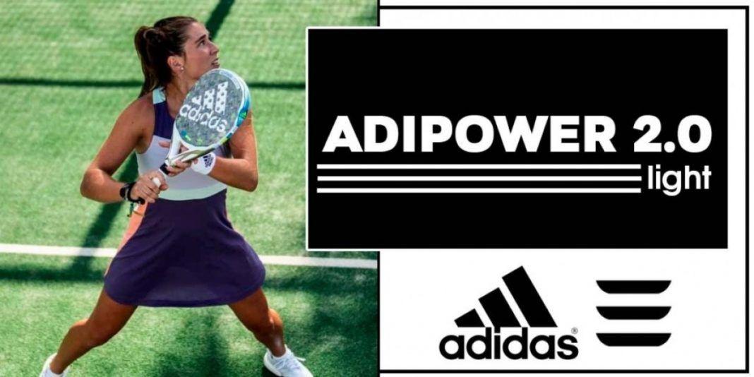 La nueva Adidas Adipower Light 2.0 analizada por Padelmanía.