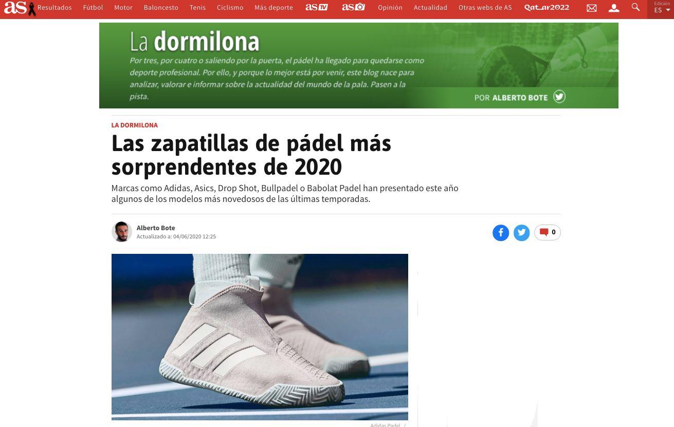 Blog' La Dormilona' de 'Diario AS'.