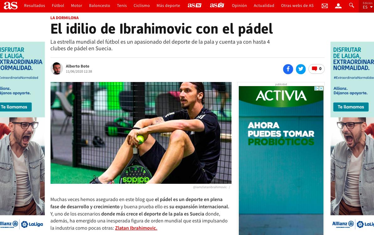 Il nuovo post de 'La Dormilona' su Zlatan Ibrahimovic.