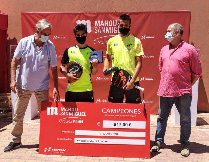 Primera categoría Circuito Mahou San Miguel. | Foto: Hook Padel