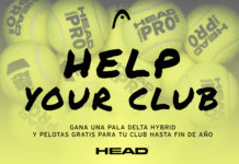 HELP YOUR CLUB, nueva campaña de Head Padel.