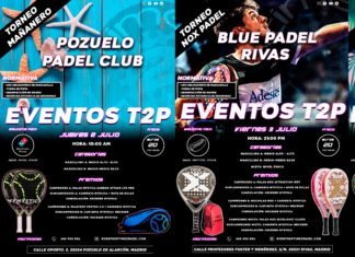 La oferta de Torneos T2P.