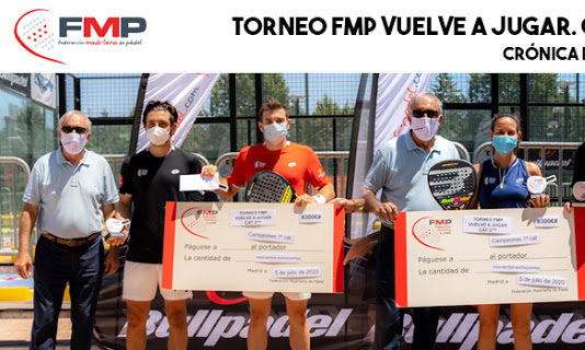 Le tournoi FMP joue à nouveau.