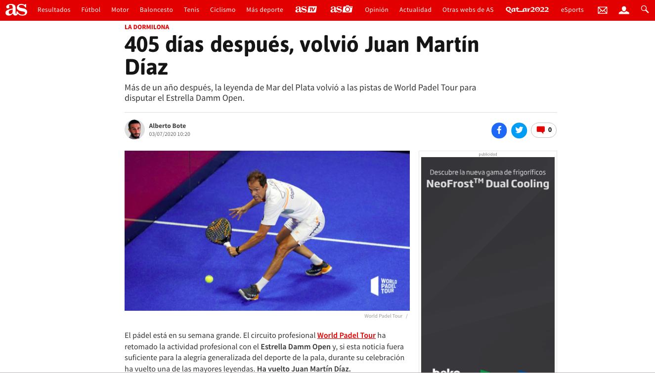 El nuevo post de la Dormilona de Diario AS.