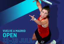 Retour à l'Open de Madrid