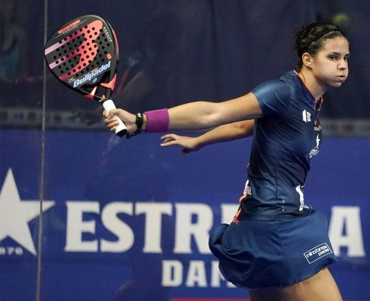 Delfi Brea. | Photo: World Padel Tour