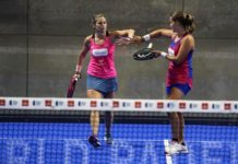 Gara femminile dell'Adeslas Open. | Foto: World Padel Tour