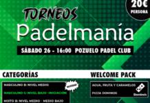 Torneos Padelmanía.