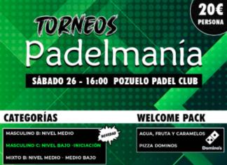 Tournois de Padelmania.