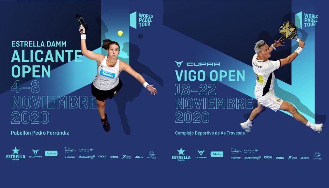 Alicante y Vigo, nuevas paradas del World Padel Tour 2020.