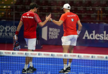 Nerone y Gadea. | Foto: World Padel Tour